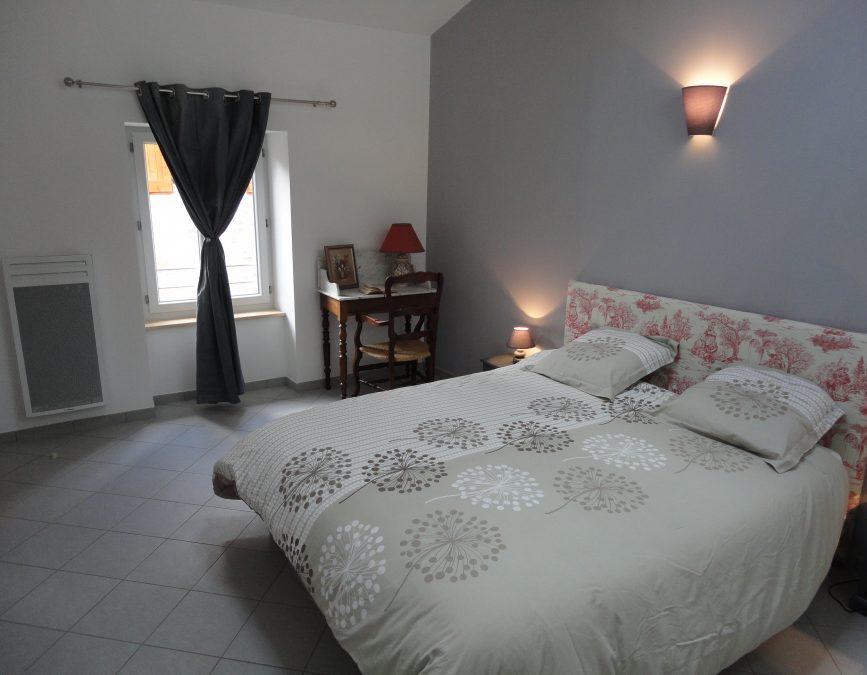 Les chambres paisibles et accueillantes du gite Matin d ete
