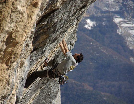 Escalade à la roche de Romeyer